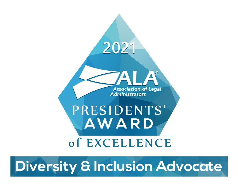 graphic of the ALA Presidents' Award of Excellence